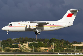 Bahrain - Royal Flight British Aerospace Avro RJ85 'A9C-HWR' LMML