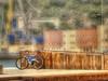 (854/17) La bicicleta (Pablo Arias) Tags: pabloarias photoshop photomatix capturenxd españa cielo nubes arquitectura bici bicicleta vehículo muelle puerto cartagena murcia