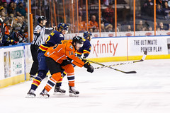 """Kansas City Mavericks vs. Colorado Eagles, December 16, 2017, Silverstein Eye Centers Arena, Independence, Missouri.  Photo: © John Howe / Howe Creative Photography, all rights reserved 2017. • <a style=""""font-size:0.8em;"""" href=""""http://www.flickr.com/photos/134016632@N02/39106606442/"""" target=""""_blank"""">View on Flickr</a>"""