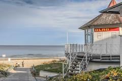 Rettungsturm in Binz (neuhold.photography) Tags: dlrg erholung ostsee reise rettungsturm rgen strand tourismus urlaub