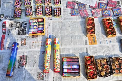 Dhaka firework preparation