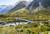 Upper Hooker Bridge (gsreejith) Tags: newzealand nz mtcook mountcook mountain glacier lake nature naturephotography