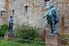 Burg Hohenzollern - Bronzestandbilder (01) (Stefan_68) Tags: deutschland germany badenwürttemberg burghohenzollern burg castle castillo festung statue statua skulptur sculpture scultura art kunst kunstwerk workofart bronzestandbild bronzenstandbeeld bronzestatue statuainbronzo estatuadebronce standbild figur figure