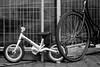 Mother and child © Inge Hoogendoorn (ingehoogendoorn) Tags: fiets fietsen bike bikes bikeparking motherandchild smallbike dutchbikes dutchbike childsbike kinderfiets bicycle bicycles