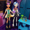 Cleo de Nile & Ghoulia Yelps - Lab Partners (Mad Science, 2013) (MyMonsterHighWorld) Tags: monster high lab partners mad science ghoulia yelps cleo de nile mattel mh doll 2013