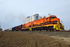 CFNR Cortena Job (caltrain927) Tags: california northern railroad cfnr genesee wyoming emd gp151 mixed freight local train shortline railway dufour ca