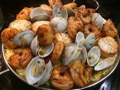 Paella (htomren) Tags: phonepics food paella clams shrimp scallops
