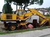 Hanomag W450D (Falippo) Tags: excavator wheelexcavator escavatoregommato escavatore hanomag masseyferguson plantmachinery bagger digger pelleteuse travauxpublics cantiere movimentoterra