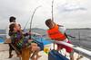 XOKA3303s (Phuketian.S) Tags: fishing phuket thailand portrait people men smile happy sea yacht tuna fish andaman ocean sky phuketian boat spinning penn daiwa reel rod catch