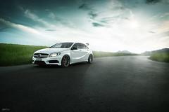 Mercedes A45 AMG (phP!cs) Tags: nikon carphotography automotivephotography light mercedes mercedesbenz mercedesamg a45amg sportcar phpics switzerland swissmade fahrzeugfotografie swisscars germancars amg postproduction retouching photoshop strobist