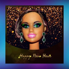 Happy New Year 2018 (marieschubert1) Tags: new year best wishes future doll celebration fashion
