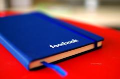 [explore] Facebook Notebook (Iker Merodio | Photography) Tags: facebook book notebook koaderno red blue pentax k50 sigma 30mm art soluciones comunicativas