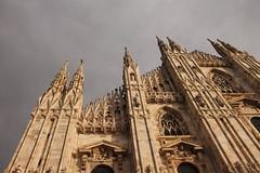 Gita. (SimonaPolp) Tags: milano italy church marble sky art gothic