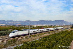 Rama 03 (ɢ. ʙᴇʀᴇɴɢᴜᴇʀ [ ō-]) Tags: ave 100003 renfe railroad train railway landscape waiting 100 2017