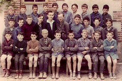 Class Photo (theirhistory) Tags: boys children kids school class colour jumper shirt shoes wellies trousers shorts boots form pupils students education