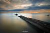 Pyramid on the sea (maxem fotos) Tags: piriapolis uruguay beach sea longexposure daytimelongexposure silkywater silk