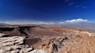 ein weiter Blick in das Valle de Muerte