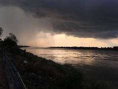 Sunset storm along the Mekong 2018-1-7 15 (SierraSunrise) Tags: clouds mekong mekongriver nongkhai phonphisai reflections river skies sky storm sunset thailand