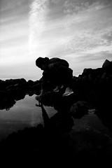 Asilomar state beach. (Playground Sideways) Tags: westcoast montereybay pacificgrove asilomarbeach xseries xpro2 fujifilm blackandwhite