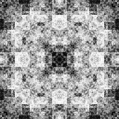 0054883371 (michaelpeditto) Tags: art symmetry carpet tile design geometry computer generated black white pattern
