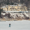 Navesink River Mansion Tour (aka Buddy) Tags: 2018 winter navesink river frozen ice cross country skiing fairhaven nj og