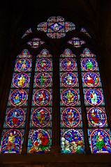 Notre Dame Cathedral (sarowen) Tags: notredame notredamecathedral notredamedeparis paris france parisfrance cathedral church stainedglass stainedglasswindow