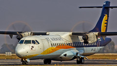 Jet Airways ATR72 VT-JCL Bangalore (BLR/VOBL) (Aiel) Tags: jetairways aerospatiale atr atr72 vtjcl bangalore bengaluru canon60d tamron70300vc