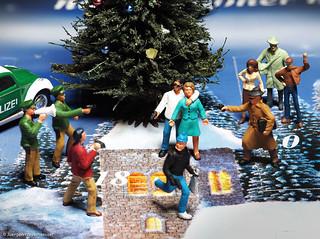 352/365 NOCH-Adventskalender(18) - Krimi-Dreh auf dem Weihnachtsmarkt