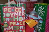 Christmas Gifts. (dccradio) Tags: lumberton nc northcarolina robesoncounty bag bags giftbags christmas holiday peace joy merry home handle candy candyjar gift gifts christmasgift holidaygift inside indoors nikon d40 dslr