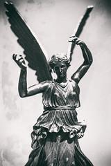 Victory (Thomas Hawk) Tags: antoniocanova dma dallas dallasmuseumofart museum texas usa unitedstates unitedstatesofamerica victory bw sculpture fav10