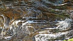 Rock pattern_1 (Tony Markham) Tags: fortyfootfalls 40footfalls lakealexandrareserve nattaicreek creek waterfall falls sourthernhighlands bushwalk walk rock pattern