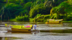 Sarawak River Boats (FotoGrazio) Tags: asia kuching lipton malaysia river seasia sarawak sarawakriver waynegrazio waynesgrazio art boat composition ferryboats fotograzio painterly phototoart phototopainting riverboats rowboats scenic signs transportation travel travelphotography tropical water
