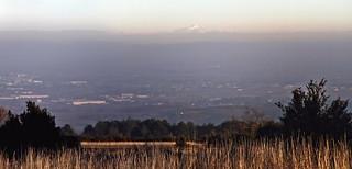Mont-blanc on the horizon