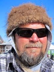 Cool Warm Hat (suenosdeuomi) Tags: spinner hat wool artisan rancher portrait santafe nm