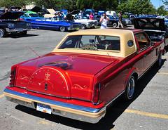 Lincoln Continental (D70) Tags: luxurious car club show n hop all stars pub delta bc canada lincoln continental
