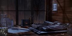 Find Your Fire (FaithA94) Tags: sl slphotography secondlife decocrate decor cabin chezmoi pewpew keke tarte applefall secondspaces cheekypea scarletcreative