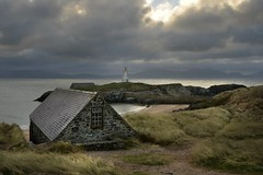 When you need some space... (PentlandPirate of the North) Tags: llanddwyn anglesey island newborough northwales retreat safehaven escape solitude rain wind clouds sky peace boathouse