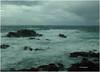 Tarde de Temporal. Stormy afternoon. (Esetoscano) Tags: marina seascape océano ocean mar sea temporal storm nubes clouds olas waves rocas rocks vidrio ventana glass window gotas lluvia rain transparencia transparency aslagoas acoruña galiza galicia españa spain