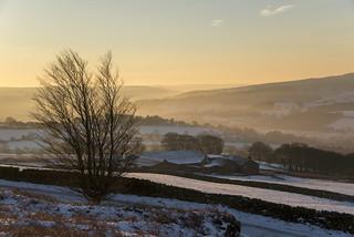Dawn in the Peak District