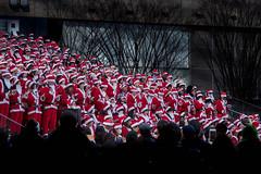 20171217 December color (soyokazeojisan) Tags: japan osaka 梅田 street city urban plaza santa december winter stairs red white olympus em1markⅱ 12100mmf40ispro