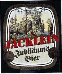Germany - Bürgerliches Brauhaus Saalfeld (Saalfreld) (cigpack.at) Tags: bürgerliches brauhaus saalfeld germany deutschland jubiläums bier beer brauerei brewery etikett label flaschenetikett bieretikett flaschenbier hermann stein jäcklein