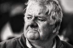 Curious (Frank Fullard) Tags: frankfullard fullard curious looking surveying candid street portrait connemara galway irish ireland monochrome blackandwhite