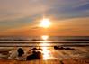 When shadows fill our day (Patricia McAtee - Photos of Maine) Tags: sunrise peace sea beach rocks seacoast ocean serenity grace
