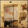 two (foto.phrend) Tags: yellow square palma decay derelict door mallorca fujifilm