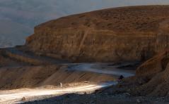 Lone Ranger (ZeePack) Tags: landscape nature mountains hills road track motorcycle rider leh pang gataloops ladakh canon twilight dusk india 5dmarkiii light alone remote distance