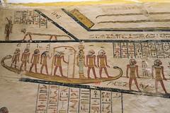 KV 9, Grab von Ramses V und VI / Tomb of Ramses V und VI (Mutnedjmet) Tags: egypt ägypten luxor grab tomb kv9 valleyofthekings talderkönige pharao ramsesv ramsesvi relief 20dynastie hieroglyphen