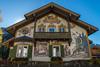 Oberammergau  (3) (berndtolksdorf1) Tags: deutschland bayern oberbayern oberammergau haus rotkäppchen malerei lüftlmalerei ortsansicht outdoor