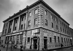 Photo 00030 (robert.lindholm87) Tags: sony cybershot rx100 mark3 rx100miii rx100m3 bw bnw black white blackandwhite blackwhite blacknwhite sweden wideangle architecture building people candid trelleborg