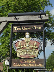 Pub Sign for The Crown Inn - Roecliffe North Yorkshire England (WanderingPhotosPJB) Tags: flickruploaded pubsigns pubspubsigns england northyorkshire ripon inn publichouse thecrowninn roecliffe