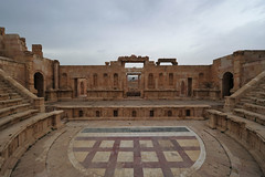 Northern Theatre, Jerash, Jordan  2 (63) (tango-) Tags: giordania jordan middleeast mediooriente الأردن jordanien 約旦 ヨルダン jerash theatre norththeatre